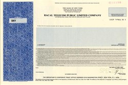 Racal Telecom Public Limited Company (Now Vodafone Group ) - England 1988