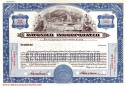 Rayonier Incorporated - Famous Forest Products Company