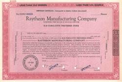 Raytheon Manufacturing Company