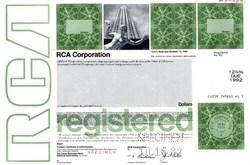 RCA Corporation (Radio Corporation of America) - New York 1982
