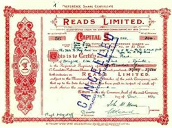 Reads Limited - Liverpool, England 1934