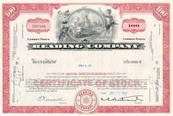 Reading Railroad Company 1960's - Monopoly Game Railroad