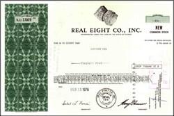 Real Eight Company, Inc. (Treasure Hunters)