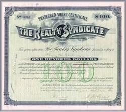 Realty Syndicate 1897 - San Francisco, California