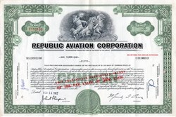 Republic Aviation Corporation (Acquired by Fairchild)  - Delaware 1962