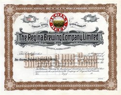 Regina Brewing Company - Saskatchewan, Canada - 1915