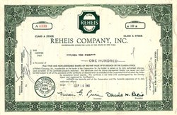 Reheis Company, Inc. - New York 1961