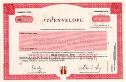 Red Envelope, Inc - Delaware