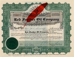 Red Feather Oil Company - Colorado 1930