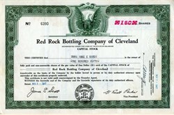 Red Rock Bottling Company of Cleveland - 1947