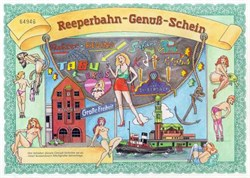 Reeperbahn Genuß-Schein - Erotic Comic Certificate from Germany