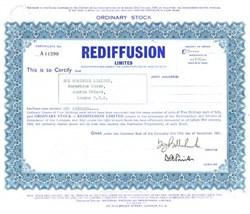 Rediffusion Limited - 1961 U.K Radio Broadcasting Company