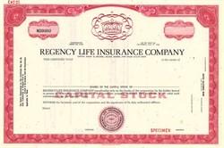 Regency Life Insurance Company - California 1968