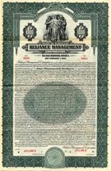 Reliance Management Corporation Gold Bond - Maryland 1929
