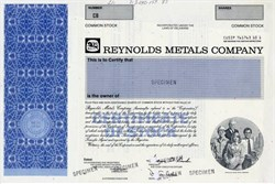 Reynolds Metals Company - Delaware 1987