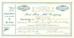 Reno Flour Mill Company 1903 - Nevada