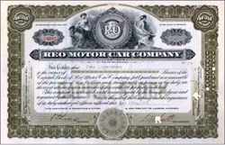 Reo Motor Car Company 1916 founded by R. E. Olds (Over 100 years old) - Michigan