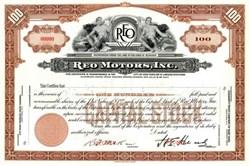 Reo Motors, Inc.