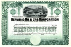 Republic Oil & Gas Corporation