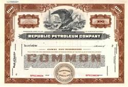 Republic Petroleum Company - Early Phillips Petroleum Company