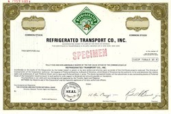 Refrigerated Transport Co., Inc. - Atlanta, Georgia