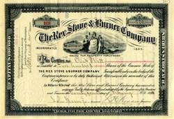 Rex Stove & Burner Company 1896