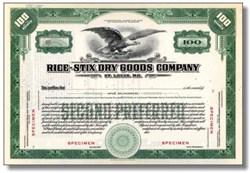 Rice - Stix Dry Goods Company 1920's