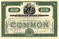 Rickenbacker Motor Car Company (Eddie Rickenbacker) - 1926