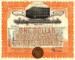 Riley-Schubert-Grossman Company - Chicago, Illinois Department Store  1914