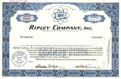 Ripley Company, Inc. - New York 1966