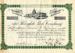 Riverdale Park Company - Maryland 1890