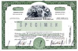 Richardson - Vicks, Inc. ( Vicks VapoRub cold remedy) - Delaware