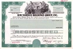 RJR Nabisco Holdings Group, Inc. - Louis V. Gerstner as Chairman