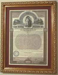 Cleveland, Cincinnati, Chicago, and St. Louis Gold Bond 1893