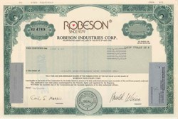 Robeson Industries Corporation