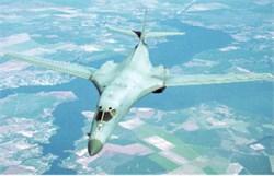 Rockwell B-1B Lancer postcard