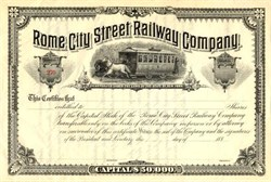 Rome City Street Railway Company - New York