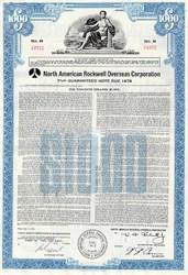 North American Rockwell Overseas Corporation Bond
