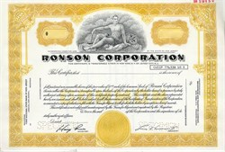 Ronson Corporation (Made cigarette lighters) - New Jersey