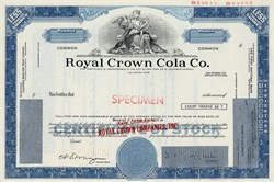 Royal Crown Cola Co. - Delaware