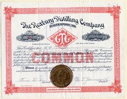 Roxbury Distilling Company - Baltimore, Maryland - 1907