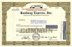 Roadway Express, Inc. - Delaware