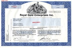 Royal Gold Enterprises Inc. - Ontario, Canada