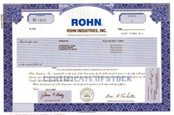Rohn Industries, Inc.