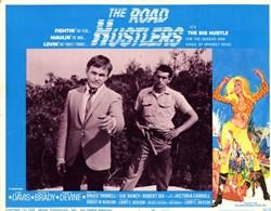 Road Hustlers Lobby Card Starring Jim Davis, Scott Brady, and Andy Devine - 1968