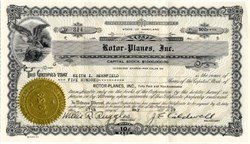 Rotor - Planes, Inc. (It's a Bird, it's a Plane, It's a Scam) - Glen Burnie, Maryland 1939