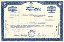 Royal Inns of America, Inc. - Calfornia 1970