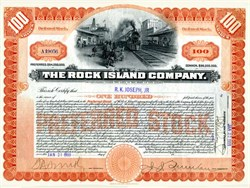 Rock Island Company - New Jersey 1902
