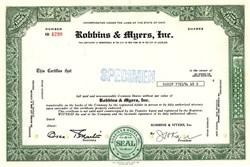 Robbins & Myers, Inc. - Ohio