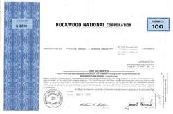 Rockwood National Corporation - Delaware